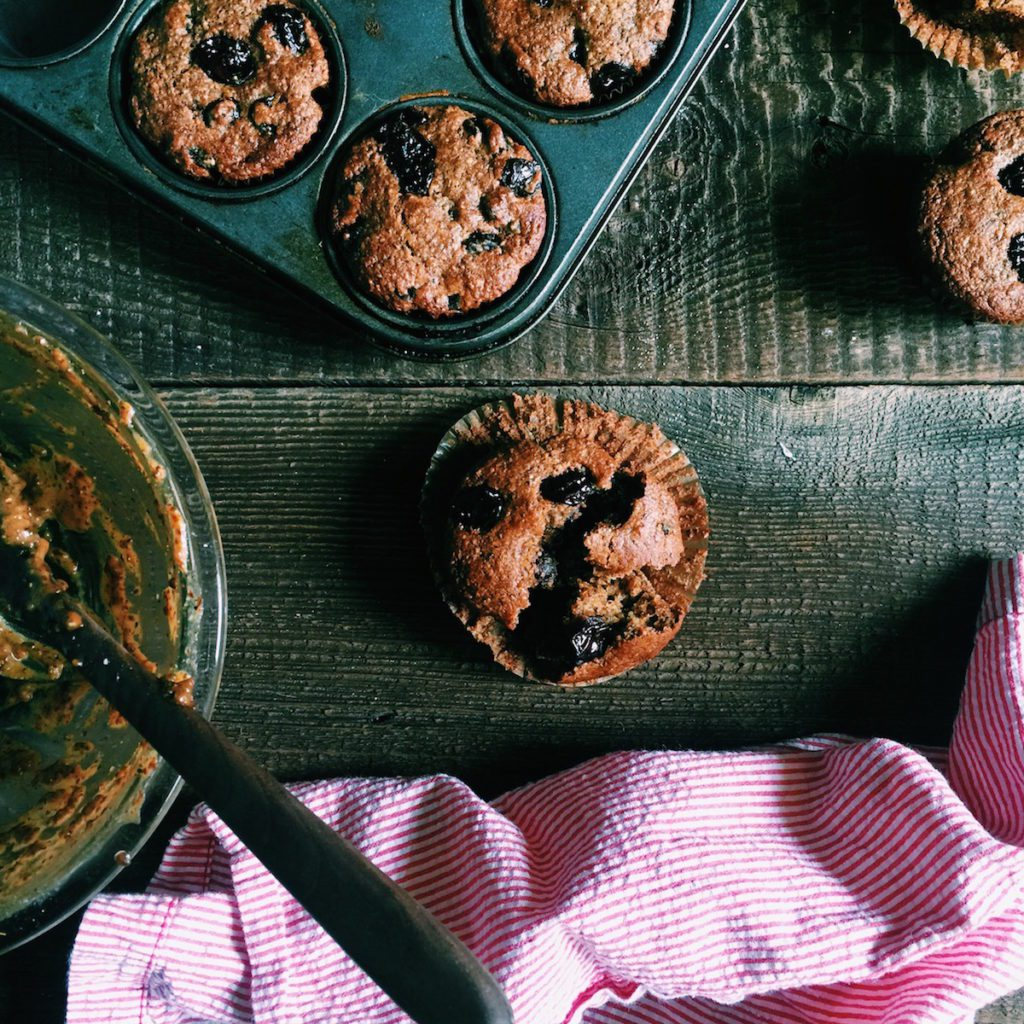 chia morning muffins | Recipe via DisplacedHousewife
