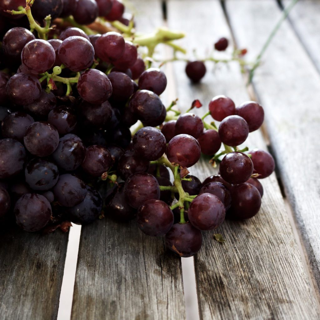 grapes from DisplacedHousewife farmette | @displacedhousewife