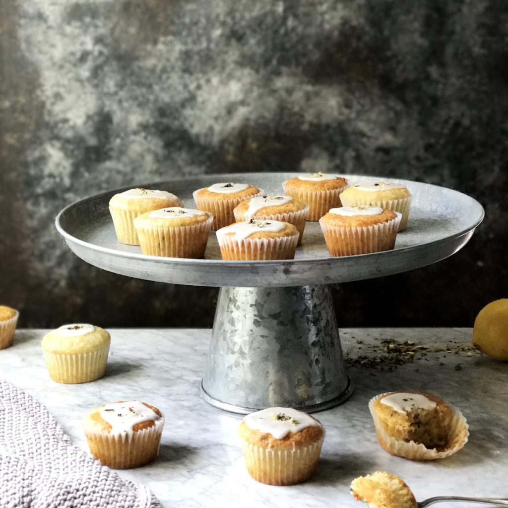 Meyer Lemon Chamomile Muffins Recipe | DisplacedHousewife