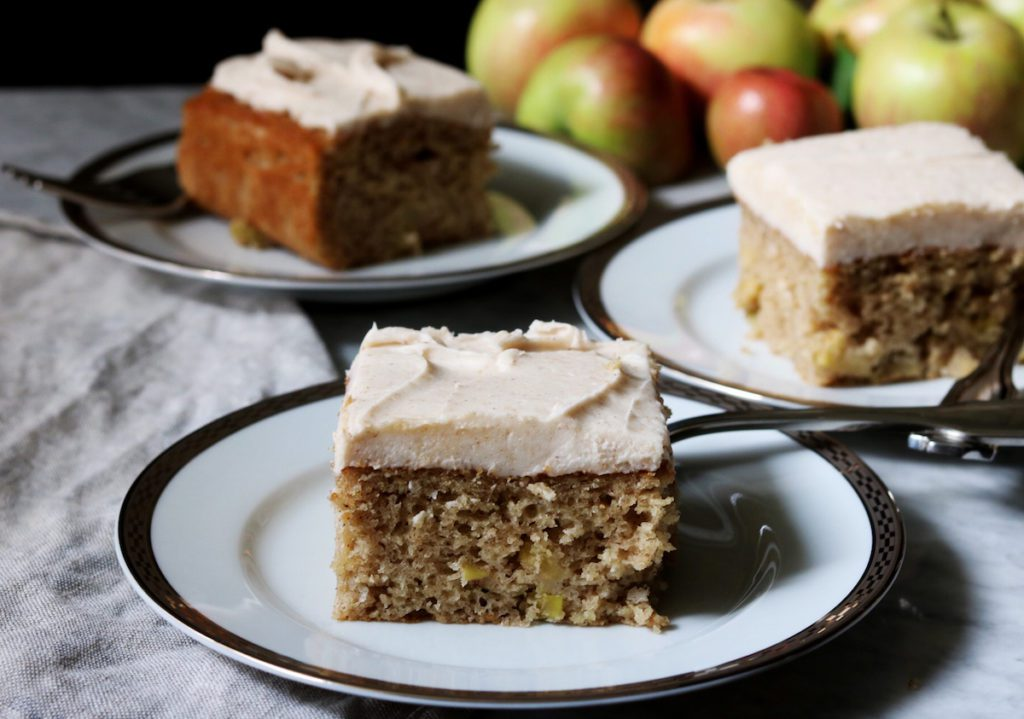 Spiced Apple Cake With Brown Butter Buttercream Recipe by Rebecca Firth | DisplacedHousewife