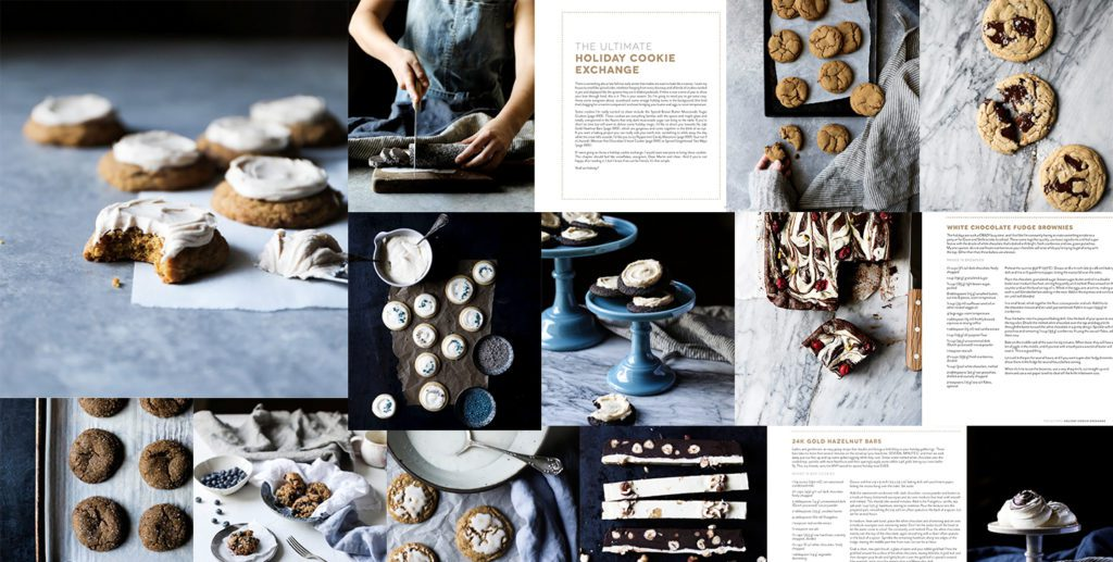 Inside spread of The Cookie Book