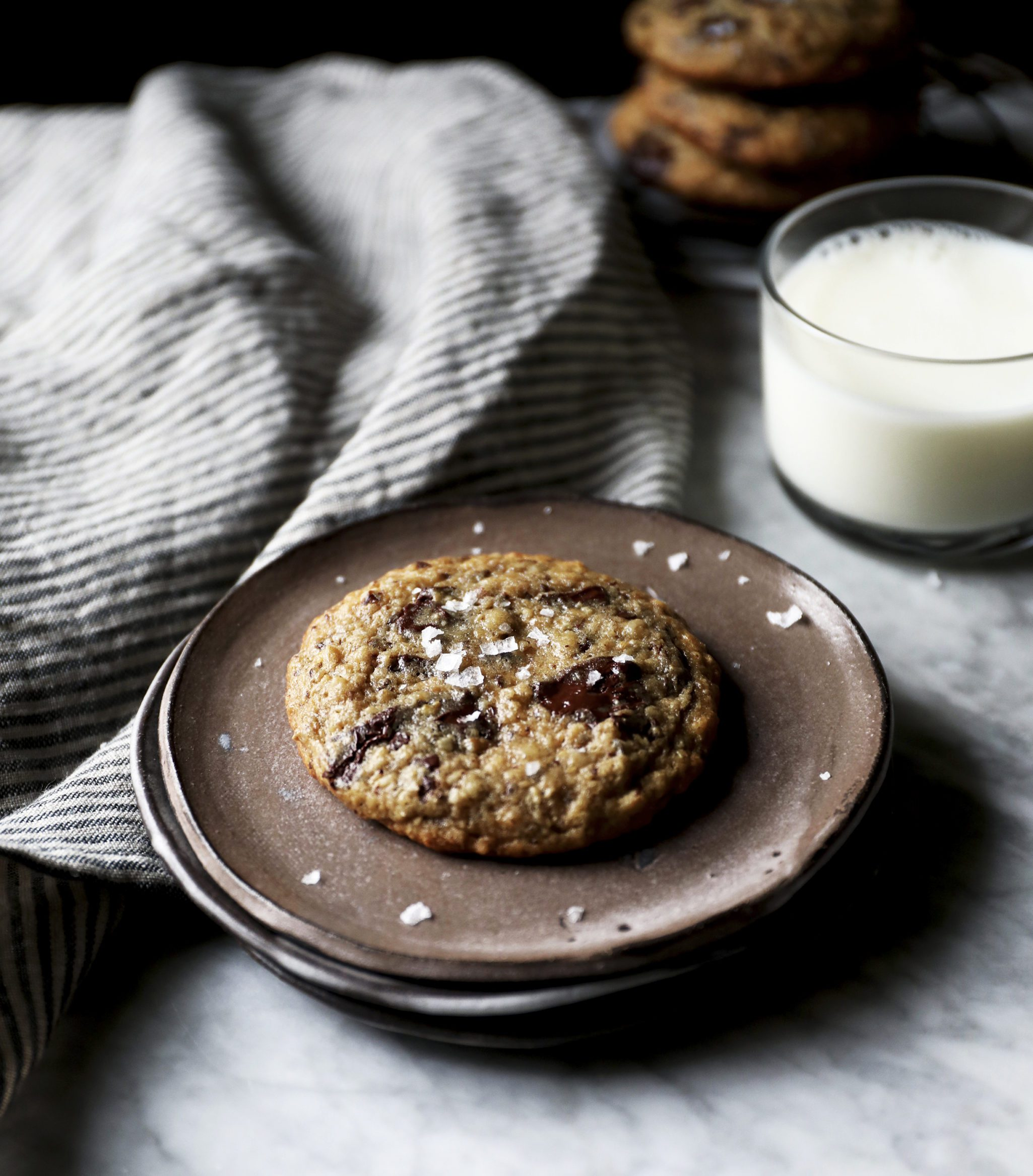 Overnight Banana Bread Cookies Recipe from The Cookie Book by Rebecca Firth | DisplacedHousewife