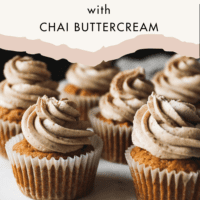 Pumpkin Cupcakes With Chai Frosting