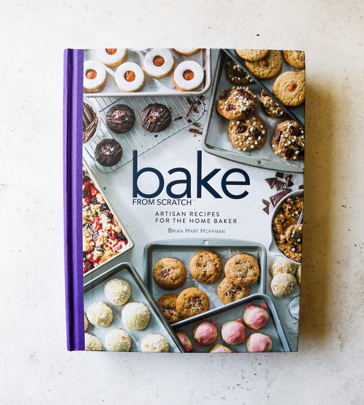 Bake From Scratch (Vol 3) Cookbook by Brian Hart Hoffman via DisplacedHousewife, Rebecca Firth + Cookbook Giveaway!