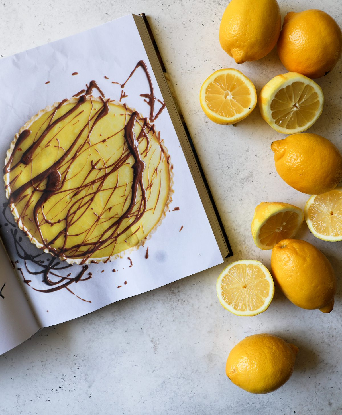 Chocolate Lemon Tart from Bake From Scratch (Vol 3) Cookbook by Brian Hart Hoffman via DisplacedHousewife, Rebecca Firth + Cookbook Giveaway!