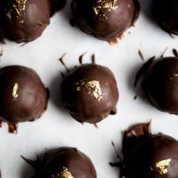 Burnt Sugar Muscovado Truffles | recipe via DisplacedHousewife Rebecca Firth