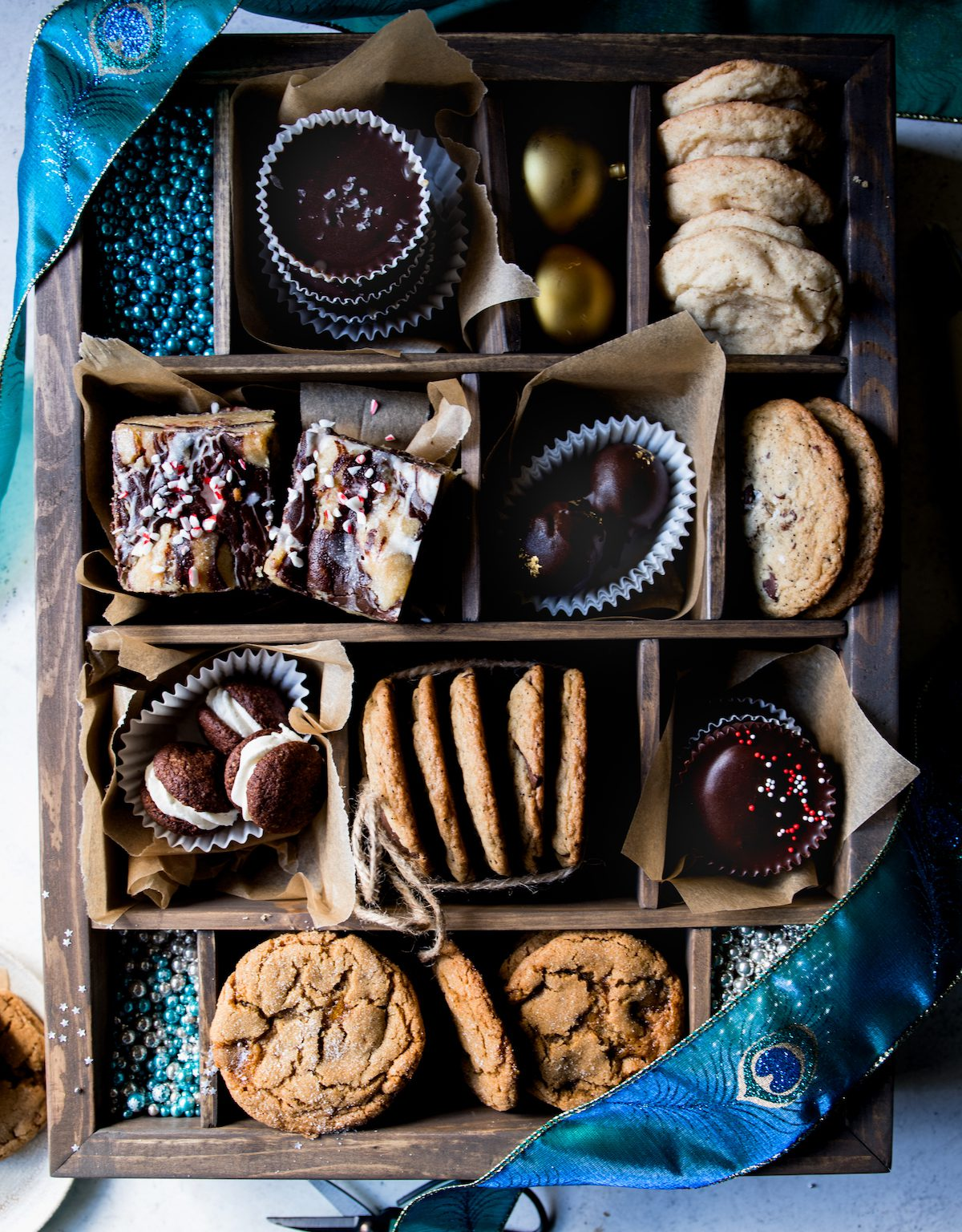 Holiday Cookie Box | Recipes via DisplacedHousewife Rebecca Firth | recipes, + tips