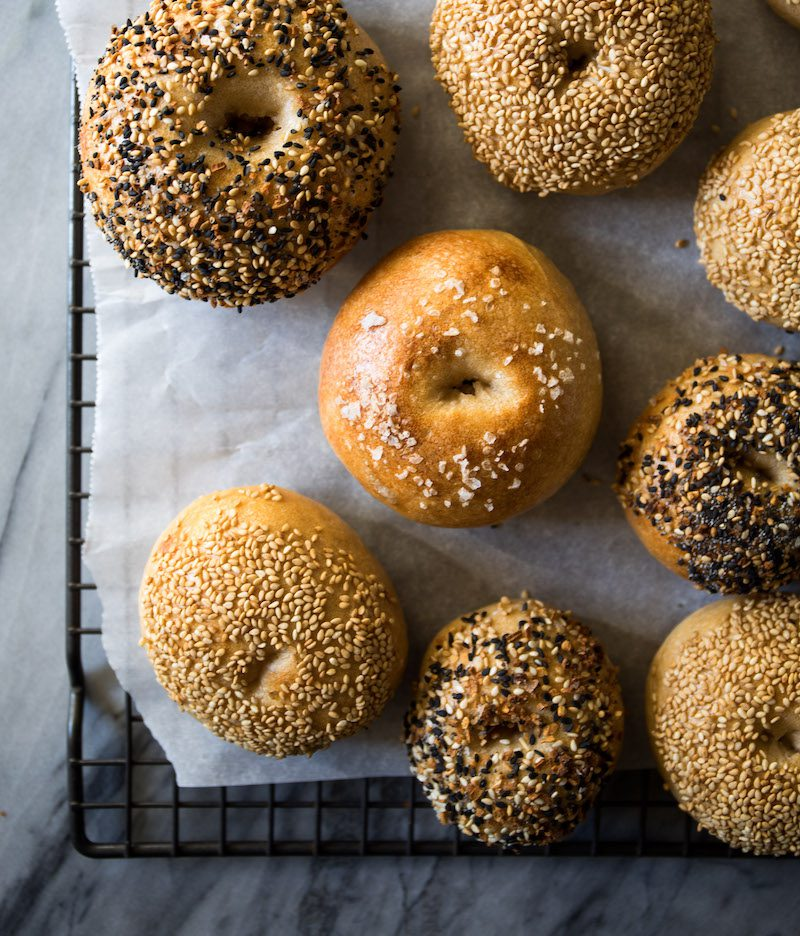 Sourdough Bagels | DisplacedHousewife Rebecca Firth; Recipe from Emilie Raffa's book Artisan Sourdough Made Simple
