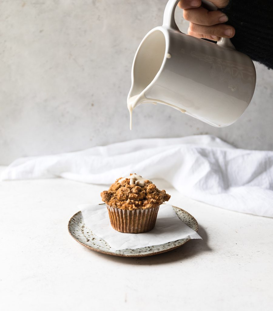 Pumpkin Streusel Muffins | Recipe via DisplacedHousewife Rebecca Firth