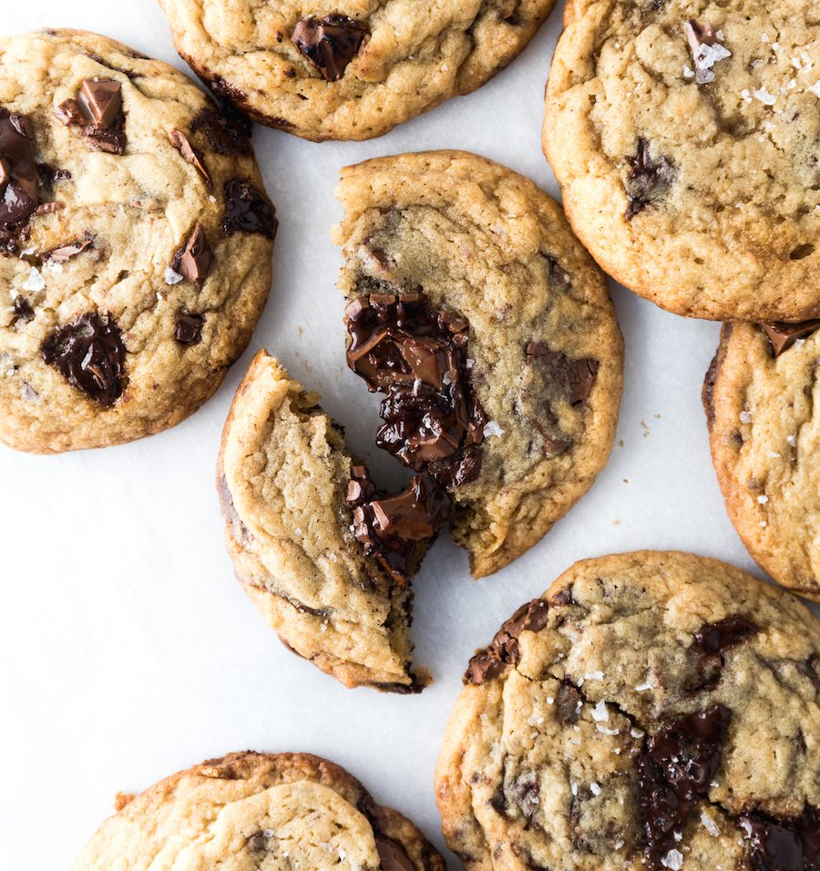 Mega Vanilla Chocolate Chip Cookies