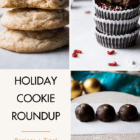 A couple of the cookies from a holiday cookie roundup